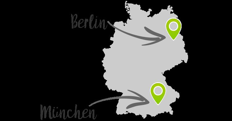 Liefergebiet Berlin Muenchen