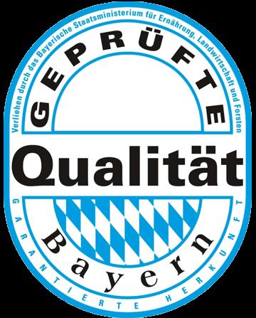 Gepruefte Qualitaet Bayern Siegel